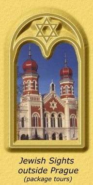 Historical Jewish sights in Western Bohemia and South Moravia - package